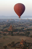 Hot Air Balloon - Bagan - Myanmar Stock Photos