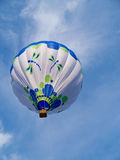 Hot Air Balloon in sky Stock Photos