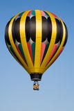 Hot air balloon blue sky stock photography