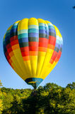Hot Air Balloon and Blue Sky Stock Photos
