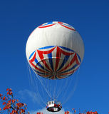Hot air balloon. Bournemouth Eye balloon on clear sunny day Stock Image
