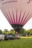 Hot air balloon - Buckinghamshire UK Royalty Free Stock Image