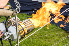 Hot Air Balloon Burner Stock Photography