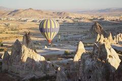 Hot air balloon in Cappadocia royalty free stock image