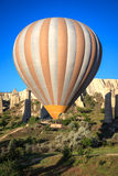 Hot air balloon in Cappadocia, Turkey Stock Images