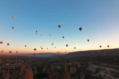 Hot-air balloon ,Cappadocia, Turkey Royalty Free Stock Photos