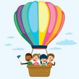 Hot Air Balloon Children Royalty Free Stock Photo