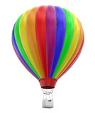 Hot Air Balloon (clipping path included) Royalty Free Stock Images