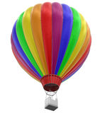 Hot Air Balloon (clipping path included) Royalty Free Stock Photos