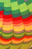 Hot air balloon, close-up Royalty Free Stock Photography