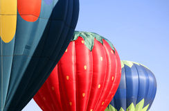 Hot Air Balloon Closeup Royalty Free Stock Photos