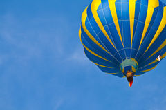 Hot Air Balloon in cloudy sky Stock Photos