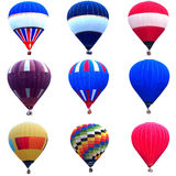 Hot air balloon collections Stock Photo