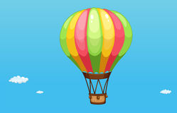 A hot air balloon Stock Images