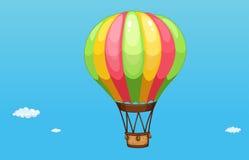 A hot air balloon royalty free illustration