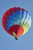 Hot air balloon, colorful aerostat in a sunny day Royalty Free Stock Photo