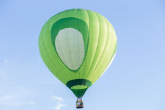 Hot air balloon. Colorful Hot air balloon with blue sky background Royalty Free Stock Photos