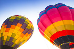 Hot air balloon colourful Royalty Free Stock Images