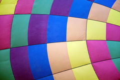 Hot air balloon colours texture Stock Photos