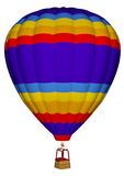 Hot air balloon - 3D render Stock Photo