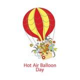 Hot Air Balloon Day Royalty Free Stock Photography