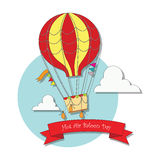 Hot Air Balloon Day Royalty Free Stock Photography