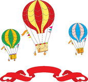 Hot Air Balloon Day. Royalty Free Stock Images