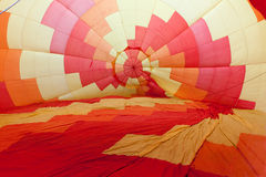 Hot air balloon before departure Royalty Free Stock Images