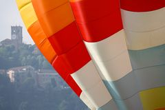 Hot air balloon, detail Stock Photography