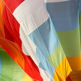 Hot air balloon, detail Royalty Free Stock Images