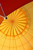 Hot air balloon detail Royalty Free Stock Photography