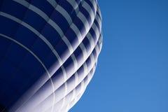 Hot Air Balloon. Detail of a blue hot-air ballon Stock Photos