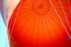 Hot air balloon details Stock Images