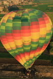 Hot air balloon in Egypt Stock Images