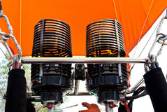 Hot Air Balloon Engine Stock Photography