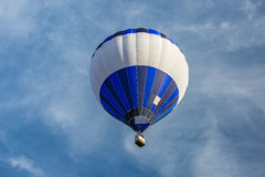 Hot-air balloon. At the evening sun Stock Images