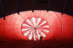 Hot air balloon eye Royalty Free Stock Images