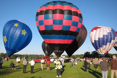 Hot Air Balloon Eyes to the Skies Festival Stock Photos