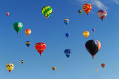 Hot Air Balloon Festival stock images
