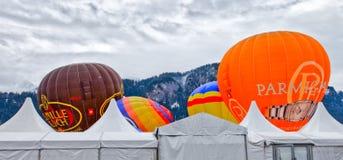Hot Air Balloon Festival 2012, Switzerland Royalty Free Stock Photography