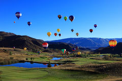 Free Hot Air Balloon Festival Royalty Free Stock Photos - 25021168