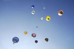 Hot Air Balloon Festival Royalty Free Stock Photos