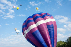 Hot Air Balloon Festival Stock Photography