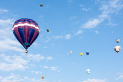 Hot Air Balloon Festival Stock Image