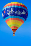 Hot Air Balloon / Festival Chateau D'Oex 2014 Royalty Free Stock Image