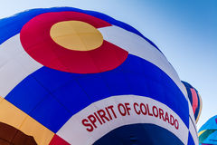 Hot Air Balloon Festival Royalty Free Stock Photography
