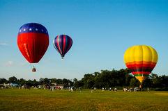 Hot Air Balloon Festival. Royalty Free Stock Images