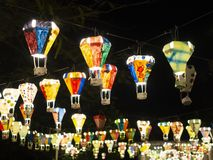Free Hot Air Balloon Festival, Lebuh Pantai, Georgetown, Penang Royalty Free Stock Image - 135510846