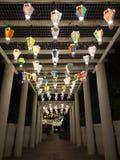 Hot air balloon festival, Lebuh Pantai, Georgetown, Penang royalty free stock photo