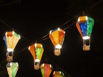 Hot air balloon festival, Lebuh Pantai, Georgetown, Penang stock photography